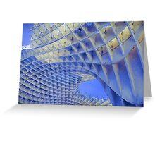 Metropol Parasol Duvet Cover Painterly Greeting Card