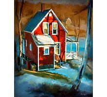 Read cottage, New Harbor Maine  Photographic Print