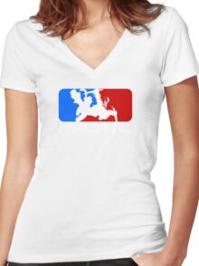 ZOO! Women's Fitted V-Neck T-Shirt