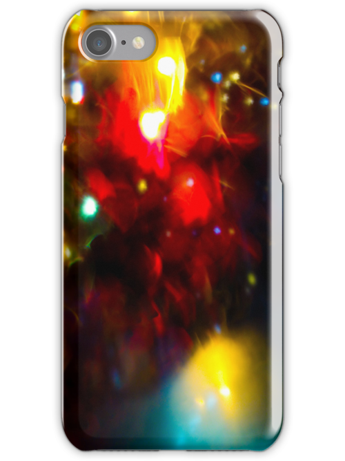 Defocused urban abstract texture  iPhone Cases by ilolab