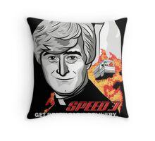 Speed 3 Throw Pillow
