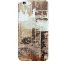 Old posters grunge textures iPhone Cases iPhone Case/Skin