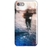A Cellist by Bike  iPhone Case/Skin