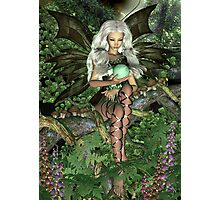 Woodland Fairy Photographic Print