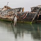 Ship Wreck - The Bluff by Paul Campbell  Photography