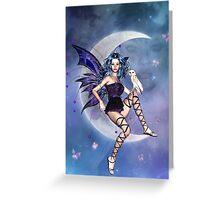 Moonlight Fairy Greeting Card