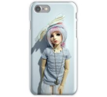 Robin (pure white) iPhone Case/Skin