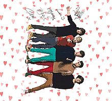 One Direction Art Signed by kmercury