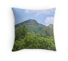 Short Mountain - The Knob Throw Pillow