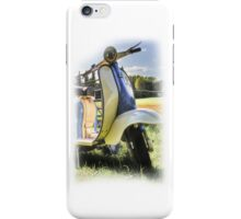 Lambretta Series 2 1960 iPhone Case/Skin