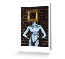 'THIS SELF-IMPOSED EXILE'  Greeting Card