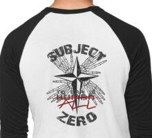 Subject Zero- To Err is All Men's Baseball ¾ T-Shirt