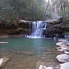 Waterfall Swimming Hole by dww25921