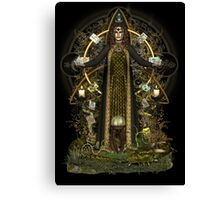 Witch of the Tarot Canvas Print