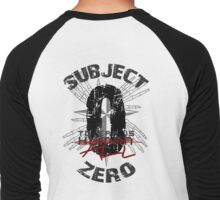 Subject Zero- To Err is All- Variant Men's Baseball ¾ T-Shirt