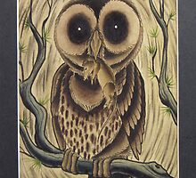 Dark Owl by MikeFrench