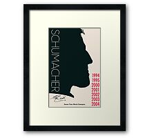Schumacher Framed Print