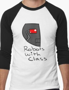 Robots with Class Men's Baseball ¾ T-Shirt