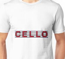Cello Red Unisex T-Shirt