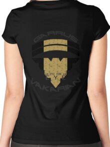 Garrus Vakarian- Eye for an Eye Women's Fitted Scoop T-Shirt