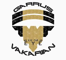 Garrus Vakarian- Eye for an Eye Men's Baseball ¾ T-Shirt