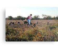 Go figure……it's just like Rick to kick you when you're down! Metal Print