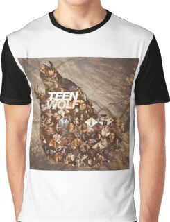 Teen wolf forest Graphic T-Shirt