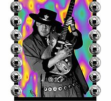 Stevie Ray Vaughn - Pride and Joy by Bob Overstreet