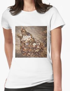 Teen wolf forest Womens Fitted T-Shirt