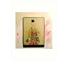 SOMBRERO Y CORONA: UN RETRATO IMPERIAL (hat and crown: an imperial portrait) Art Print