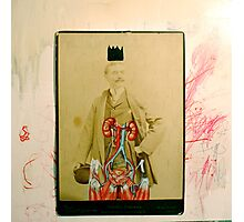 SOMBRERO Y CORONA: UN RETRATO IMPERIAL (hat and crown: an imperial portrait) Photographic Print