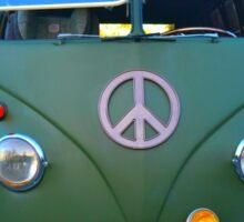 Hippy Sticker Sticker