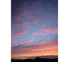 """ A Guernsey Sunset "" Photographic Print"