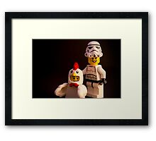 "Say ""chicken"" Framed Print"