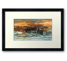 Sunset 57 Framed Print