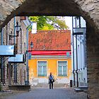 Approaching an Old Town Gate by M-EK