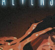 Aliens - Ripley Vs Facehugger Sticker