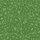 Creepy Crawly Pattern - Green by chayground