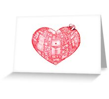 Heart Cabinet Greeting Card