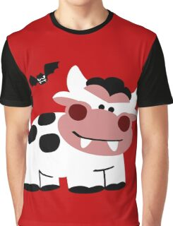 Cow Dracula Graphic T-Shirt