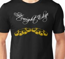 Straight Edge Brass Knuckles Knuckle Duster Clothing Co. Unisex T-Shirt