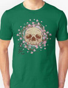CHERRY BLOSSOM SKULL Unisex T-Shirt