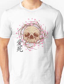CHERRY BLOSSOM SKULL T-Shirt