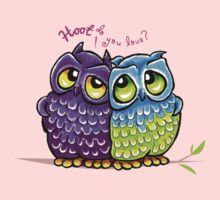 Owls in Love Kids Clothes