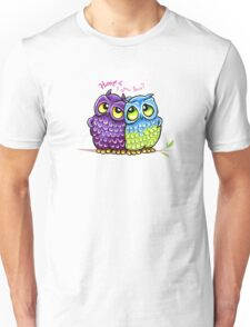 Owls in Love Unisex T-Shirt