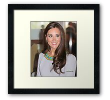Kate Middleton Framed Print