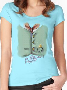 Pocket 02 Women's Fitted Scoop T-Shirt