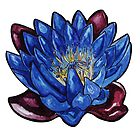 Egyptian Blue Lily by vitez-art
