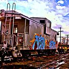 Graffiti Train by Kathie Smith