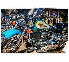 Harley Davidson Motorcycles Poster